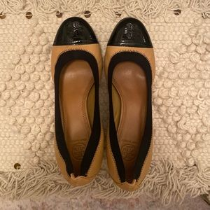 Spectator Tory Burch Stacked Heels